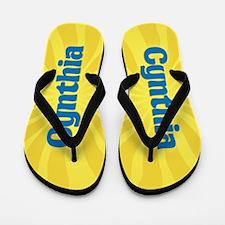 Cynthia Sunburst Flip Flops