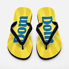 Dom Sunburst Flip Flops