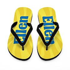 Ellen Sunburst Flip Flops