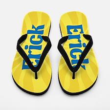 Erick Sunburst Flip Flops