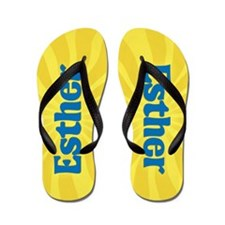 Esther Sunburst Flip Flops