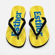 Esther Sunburst Flip Flops