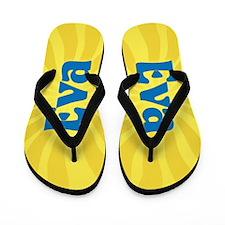 Eva Sunburst Flip Flops