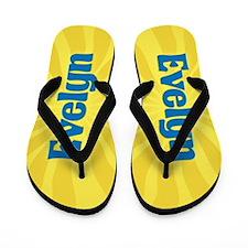 Evelyn Sunburst Flip Flops