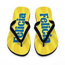 Felicia Sunburst Flip Flops