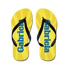 Gabriela Sunburst Flip Flops