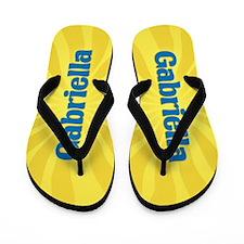 Gabriella Sunburst Flip Flops