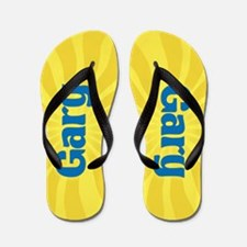 Gary Sunburst Flip Flops