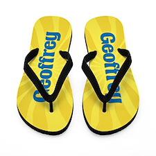 Geoffrey Sunburst Flip Flops