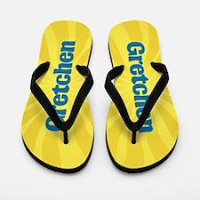 Gretchen Sunburst Flip Flops