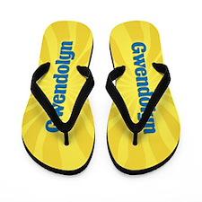 Gwendolyn Sunburst Flip Flops
