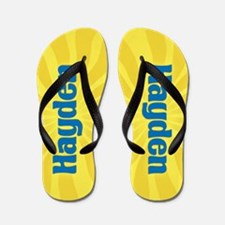 Hayden Sunburst Flip Flops