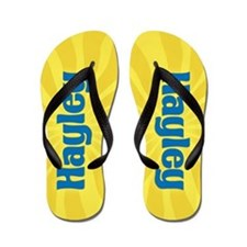 Hayley Sunburst Flip Flops