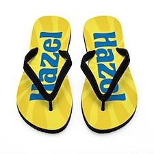Hazel Sunburst Flip Flops