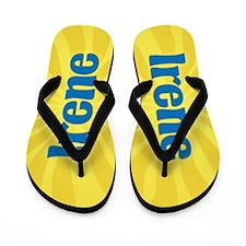 Irene Sunburst Flip Flops