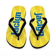 Jaclyn Sunburst Flip Flops
