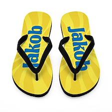 Jakob Sunburst Flip Flops