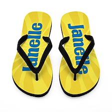 Janelle Sunburst Flip Flops