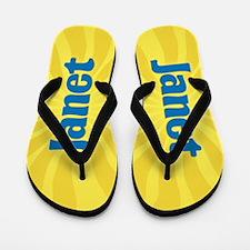 Janet Sunburst Flip Flops