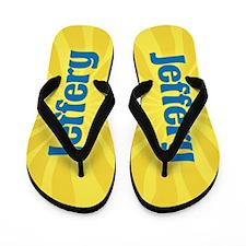 Jeffery Sunburst Flip Flops