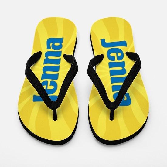 Jenna Sunburst Flip Flops