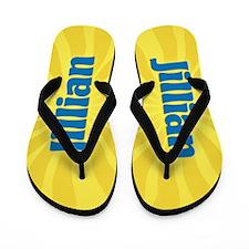 Jillian Sunburst Flip Flops