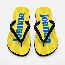 Joanna Sunburst Flip Flops