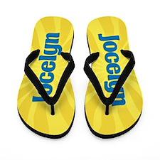 Jocelyn Sunburst Flip Flops
