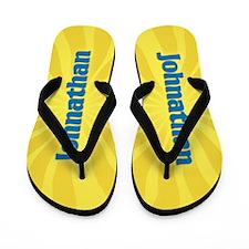 Johnathan Sunburst Flip Flops