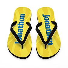 Jonathon Sunburst Flip Flops