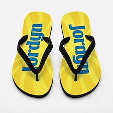 Jordyn Sunburst Flip Flops