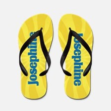 Josephine Sunburst Flip Flops
