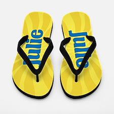 Julie Sunburst Flip Flops