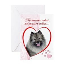 Keeshond Valentine's Day Card