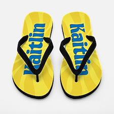 Kaitlin Sunburst Flip Flops