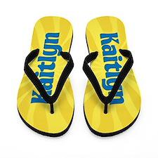 Kaitlyn Sunburst Flip Flops