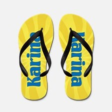 Karina Sunburst Flip Flops