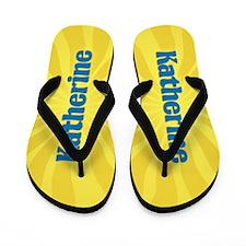Katherine Sunburst Flip Flops