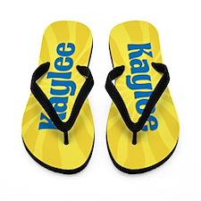 Kaylee Sunburst Flip Flops