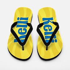 Kelli Sunburst Flip Flops