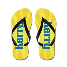 Kerry Sunburst Flip Flops