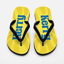 Kerry Sunburst Flip Flops