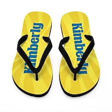 Kimberly Sunburst Flip Flops