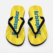 Kristopher Sunburst Flip Flops