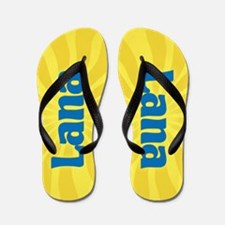 Lana Sunburst Flip Flops