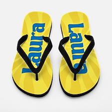 Laura Sunburst Flip Flops