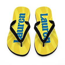 Lauren Sunburst Flip Flops