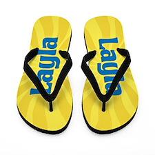 Layla Sunburst Flip Flops