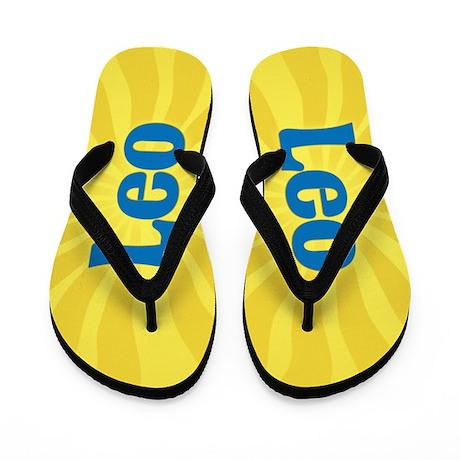 Leo Sunburst Flip Flops