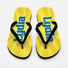 Lydia Sunburst Flip Flops
